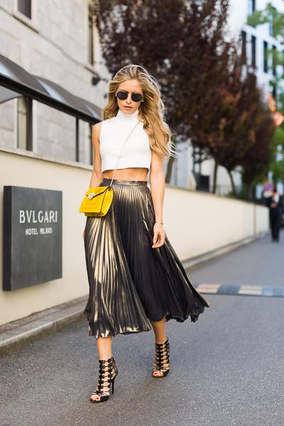 Maja Malnar, fashion blogger, street style