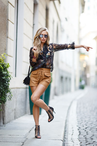 Maja Malnar, fashion blogger, milano fashion week 2015